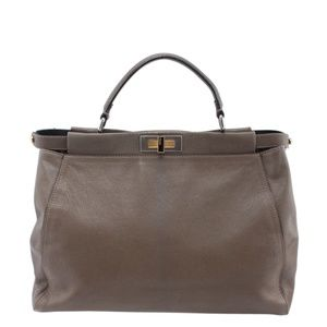 Fendi Large Peekaboo Satchel 157757